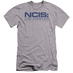 Ncis La - Mens Logo Premium Slim Fit T-Shirt