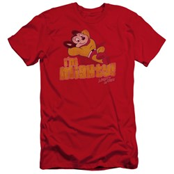 Mighty Mouse - Mens Im Mighty Premium Slim Fit T-Shirt