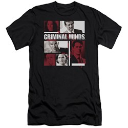 Criminal Minds - Mens Character Boxes Premium Slim Fit T-Shirt
