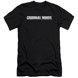 Criminal Minds - Mens Logo Premium Slim Fit T-Shirt