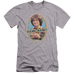 Mork & Mindy - Mens Nanu Nanu Premium Slim Fit T-Shirt