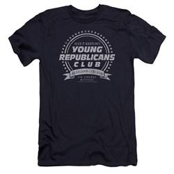 Family Ties - Mens Young Republicans Club Premium Slim Fit T-Shirt