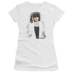 Ncis - Juniors Abby Skulls Premium Bella T-Shirt