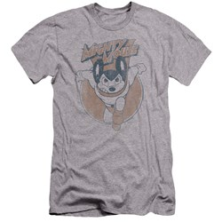 Mighty Mouse - Mens Flying With Purpose Premium Slim Fit T-Shirt