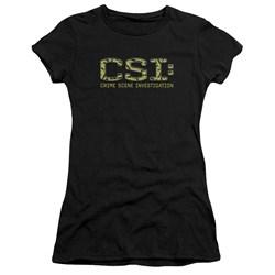 Csi - Juniors Collage Logo Premium Bella T-Shirt