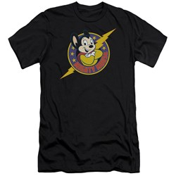 Mighty Mouse - Mens Mighty Hero Premium Slim Fit T-Shirt