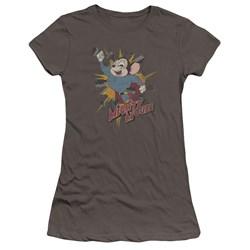 Mighty Mouse - Juniors Break Through Premium Bella T-Shirt