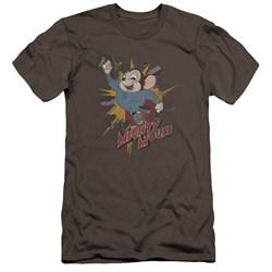 Mighty Mouse - Mens Break Through Premium Slim Fit T-Shirt