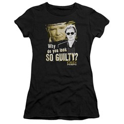 Csi Miami - Juniors So Guilty Premium Bella T-Shirt