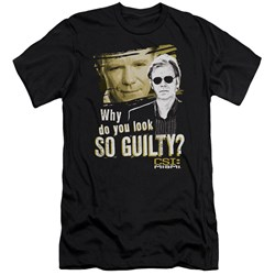 Csi Miami - Mens So Guilty Premium Slim Fit T-Shirt