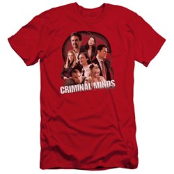 Criminal Minds - Mens Brain Trust Premium Slim Fit T-Shirt