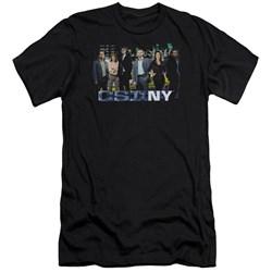 Csi Ny - Mens Cast Premium Slim Fit T-Shirt