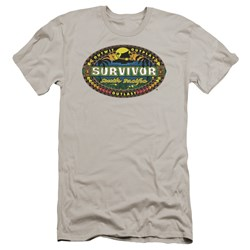 Survivor - Mens South Pacific Premium Slim Fit T-Shirt
