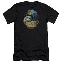Chicago - Mens Live Premium Slim Fit T-Shirt