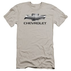 Chevrolet - Mens Chevy Bowtie Premium Slim Fit T-Shirt