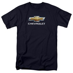 Chevrolet - Mens Chevy Bowtie Stacked T-Shirt