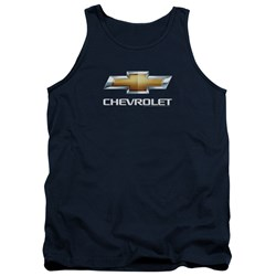 Chevrolet - Mens Chevy Bowtie Stacked Tank Top