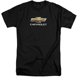 Chevrolet - Mens Chevy Bowtie Stacked Tall T-Shirt