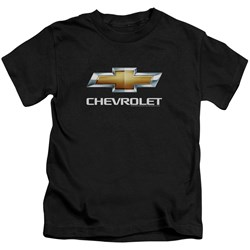 Chevrolet - Youth Chevy Bowtie Stacked T-Shirt