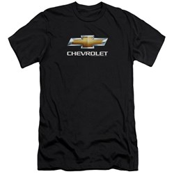 Chevrolet - Mens Chevy Bowtie Stacked Slim Fit T-Shirt