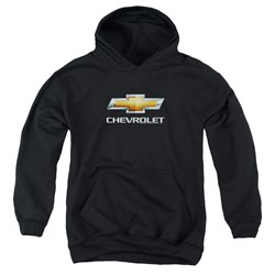 Chevrolet - Youth Chevy Bowtie Stacked Pullover Hoodie