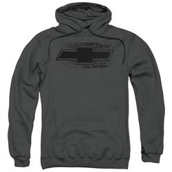 Chevrolet - Mens Bowtie Burnout Pullover Hoodie