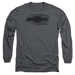 Chevrolet - Mens Bowtie Burnout Long Sleeve T-Shirt