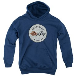 Chevrolet - Youth Old Vette Pullover Hoodie