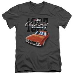 Chevrolet - Mens Classic Camaro V-Neck T-Shirt