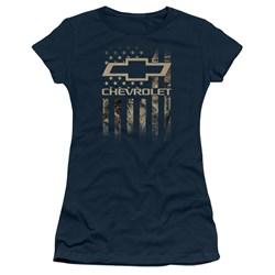 Chevrolet - Juniors Camo Flag T-Shirt