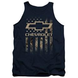 Chevrolet - Mens Camo Flag Tank Top