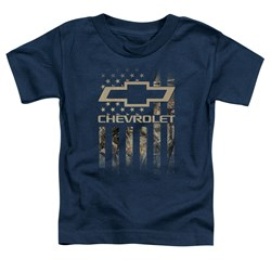 Chevrolet - Toddlers Camo Flag T-Shirt