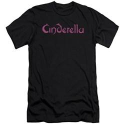 Cinderella - Mens Logo Rough Premium Slim Fit T-Shirt