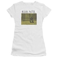 Miles Davis - Juniors Miles And Milt Premium Bella T-Shirt