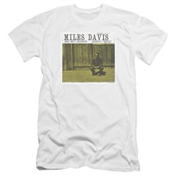 Miles Davis - Mens Miles And Milt Premium Slim Fit T-Shirt
