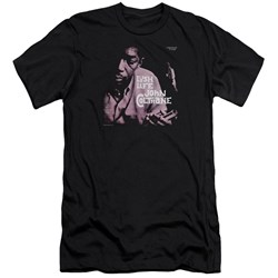 John Coltrane - Mens Lush Life Premium Slim Fit T-Shirt