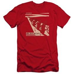 Miles Davis - Mens Davis And Horn Premium Slim Fit T-Shirt