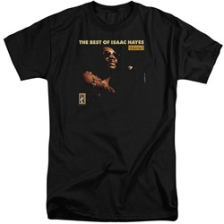 Isaac Hayes - Mens Chain Vest Tall T-Shirt
