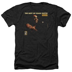 Isaac Hayes - Mens Chain Vest Heather T-Shirt