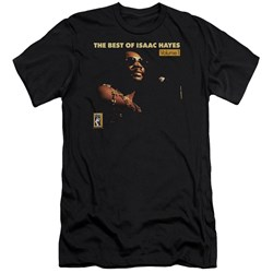 Isaac Hayes - Mens Chain Vest Premium Slim Fit T-Shirt