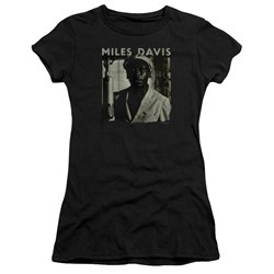 Miles Davis - Juniors Miles Portrait Premium Bella T-Shirt