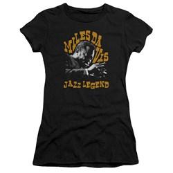 Miles Davis - Juniors Jazz Legend Premium Bella T-Shirt