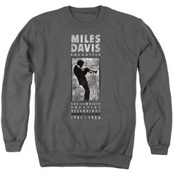 Miles Davis - Mens Miles Silhouette Sweater