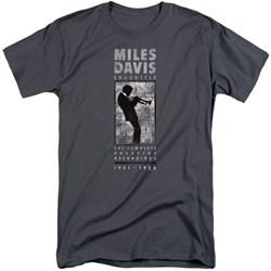 Miles Davis - Mens Miles Silhouette Tall T-Shirt