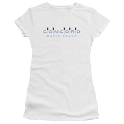 Concord Music - Juniors Concord Logo Premium Bella T-Shirt