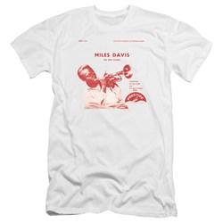 Miles Davis - Mens The New Sounds Premium Slim Fit T-Shirt