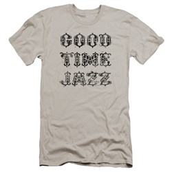 Good Time Jazz - Mens Gtj Vintage Premium Slim Fit T-Shirt