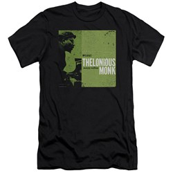 Thelonious Monk - Mens Work Premium Slim Fit T-Shirt