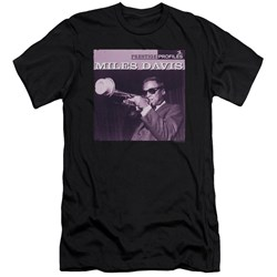 Miles Davis - Mens Prince Premium Slim Fit T-Shirt