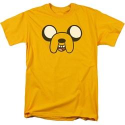 Adventure Time - Mens Jake Head T-Shirt